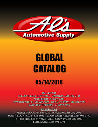 global catalog al s automotive supply