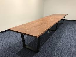 Live Edge Conference Table Product Categories Home Table Archive Modernwoodstyle