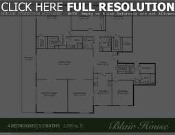 4 bedroom 3 5 bath house plans 100 images 4 bedroom house