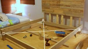 awesome how to build a beautiful custom bed frame for under 300
