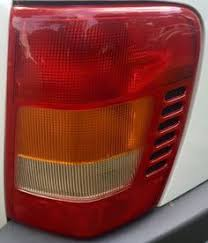 2002 jeep grand cherokee tail light 99 04 jeep grand cherokee right rear seat back black leather limited