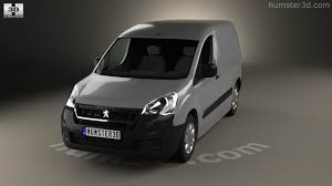 peugeot partner 2016 360 view of peugeot partner van 2015 3d model hum3d store