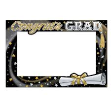 graduation frames graduation photo booth frame