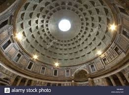 italy rome pantheon interior view dome architecture construction