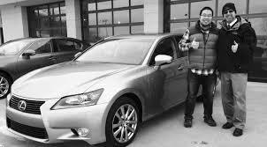 lexus white 2015 taehee discovers the magic of leasing a 2015 lexus gs 350 john