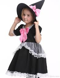 Toddler Girls Halloween Costume Children Girls Witch Costume Halloween Costume Kids Stage