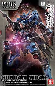 1 100 full mechanics gundam vidar english color guide u0026 paint
