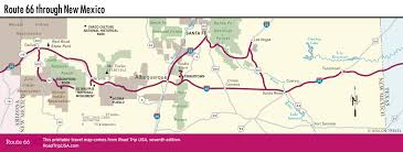 Road Trip Map Usa by Route 66 New Mexico Mapfreedomfreerun Com Freedomfreerun Com