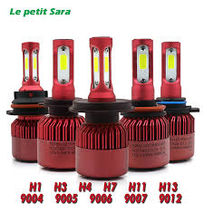 le h7 led aliexpress buy led h4 car headlight bulb canbus h7 72w