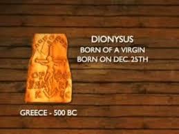 jesus a pagan god