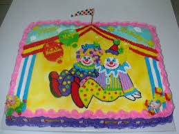 clowns for birthday circus clowns birthday cake cakecentral