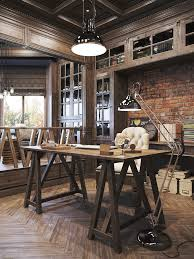 Rustic Home Interior by 25 Awesome Rustic Home Office Designs Office Designs Rustic