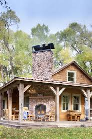 best 10 stone cabin ideas on pinterest stone cottage homes when they found it the ranch house was sagging off a loose stone foundation