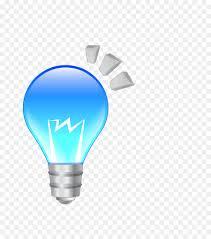 blue free light bulbs incandescent light bulb l blue light bulb png download 807