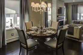 living room and dining room combo dining room the space saving round dining table furniture 6 of