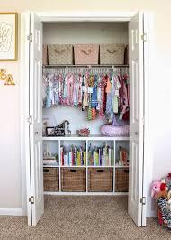 fantastic ideas for organizing kid s bedrooms the happy housie kid s closet organization via dwelling telling