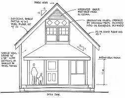cottage plans 20 wide 1 1 2 cottage plans