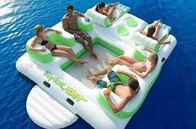 canapé gonflable piscine top 10 meilleur gonflable flottant island 2014 beevar com