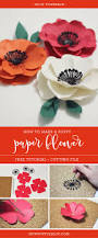 Make Flower With Paper - how joyful blog how to make a poppy flower with paper u2013 tutorial