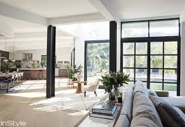 tour lea michele s airy abode instyle com