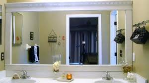 Framing An Existing Bathroom Mirror Framing An Existing Bathroom Mirror Bath Frame An Existing