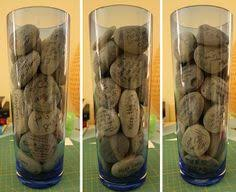 Wishing Rocks For Wedding Irish Wedding Tradition Wishing Stones