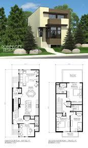 narrow block floor plans interesting ocean front house home design