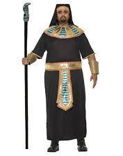 Egyptian Pharaoh Halloween Costume Mens Eguptian Pharaoh God King Tut Classic Halloween Costume