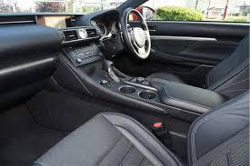 lexus rc bhp used 2017 lexus rc 300h 2 5 f sport 2dr cvt auto navigation for