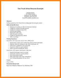 Resume Template For Driver Position Sample Truck Driver Resumes