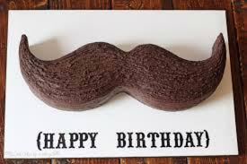 what a mustache cake is and how you make it