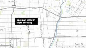 La Gang Map Two Killed In Separate Shootings In Compton La Times