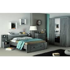 miroire chambre chambre lit 140x190 1 chevets armoire 3 portes miroir pas