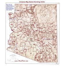 Arizona Maps by Arizona Unit Map Arizona Map