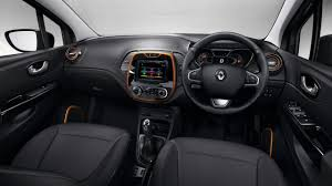bmw inside view india bound renault captur snapped inside the cabin for the first time