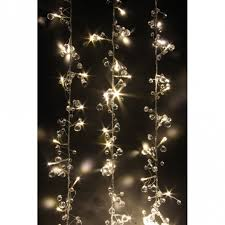 warm white string fairy lights crystal chic led string lights warm white battery operated