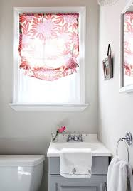 Bathroom Valances Ideas by Bathroom Curtain Treatments Brightpulse Us