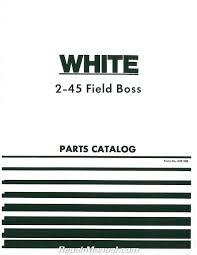 white tractor manuals repair manuals online