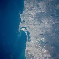 San Diego On Map by San Diego Bay Wikipedia