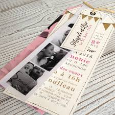 rã ponse mariage wedding invitation pink flags