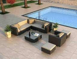 Modern Patio Furniture Clearance Modern Patio Set Ultra Modern Patio Furniture 7 Sectional