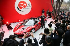 ferrari j50 price ferrari j50 limited edition revealed in japan at their 50th