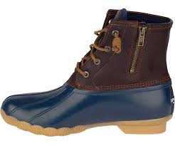 womens duck boots canada s saltwater duck boot boots sperry