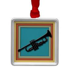 trumpet ornaments keepsake ornaments zazzle