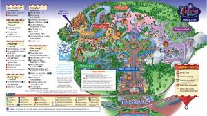 Christmas Map Mickey U0027s Very Merry Christmas Party 2011 Guide Map Photo 1 Of 2