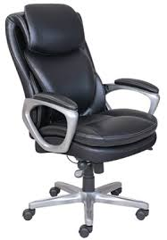 Officemax Chairs Serta Smart Layers Air Arlington Executive Chair Blackpewter By