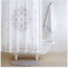 White Cotton Shower Curtain Best 25 Gray Shower Curtains Ideas On Pinterest Black And