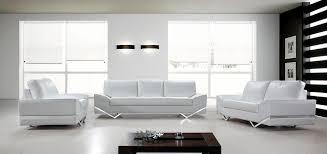 Contemporary White Leather Sofas Modern White Leather Sofa Contemporary Furniture The Home