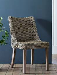 heavy duty wicker dining chair rattan dining chairs rattan