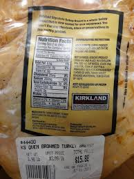 turkey breast recipes for thanksgiving kirkland signature oven browned turkey breast